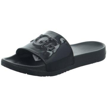 UGG Australia Pool Slides schwarz