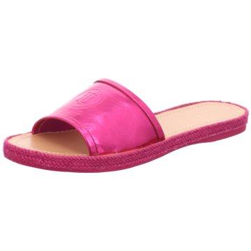 Tommy Hilfiger Klassische Pantolette pink