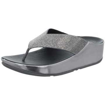 FitFlop KeilpantoletteCrystall silber
