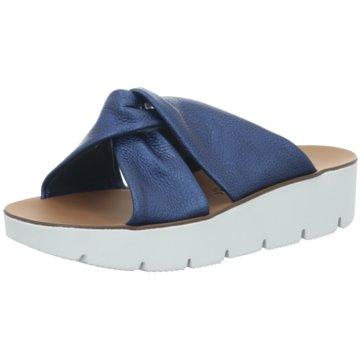 Paul Green Plateau Pantolette blau