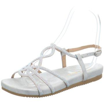 Alma en Pena Sandalette silber