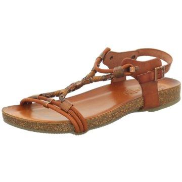 ELENA Italy Sandale braun