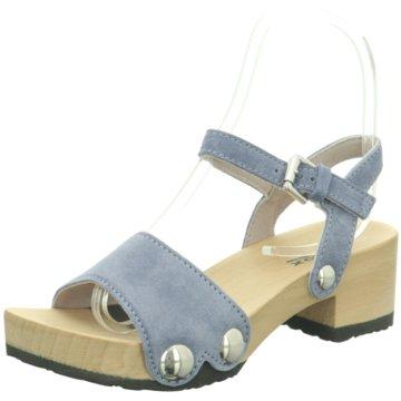Softclox Plateau Sandalette blau