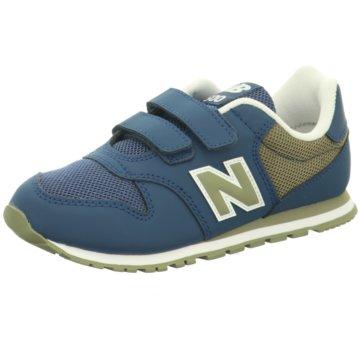 New Balance Klettschuh blau