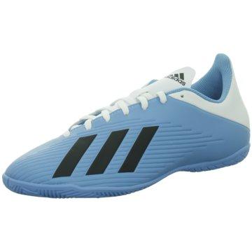 adidas Hallen-SohleX 19.4 IN - F35341 blau