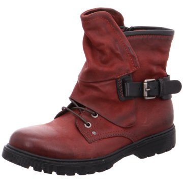 Mjus Stiefelette rot