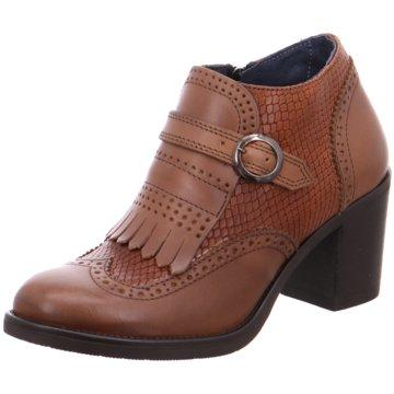 Nicola Benson Ankle Boot braun