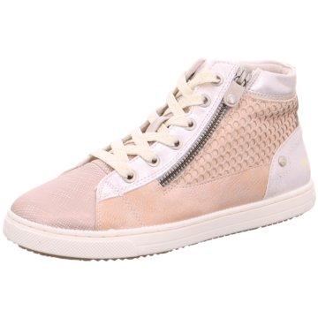 Mustang Sneaker High rosa