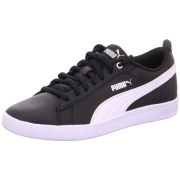 Puma Sneaker Low SMASH WNS V2 L - 365208 schwarz