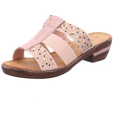 Hengst Footwear Komfort Pantolette beige