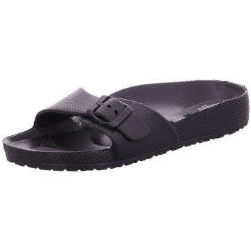 Hengst Footwear Badelatsche schwarz