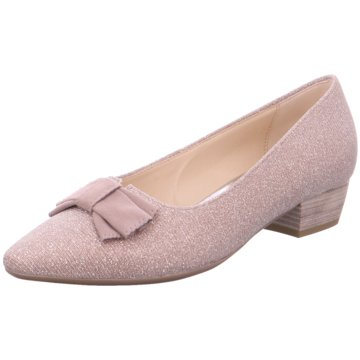 Gabor Flacher Pumps rosa