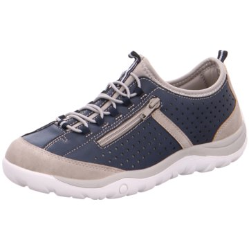 Tempora Komfort Slipper blau