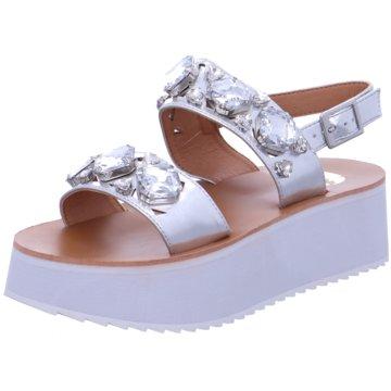Buffalo Top Trends Sandaletten weiß