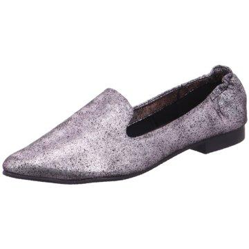 Buffalo Klassischer Slipper grau