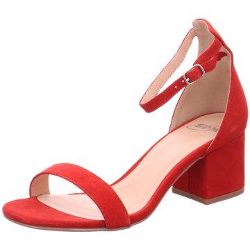 SPM Shoes & Boots Riemchensandalette rot