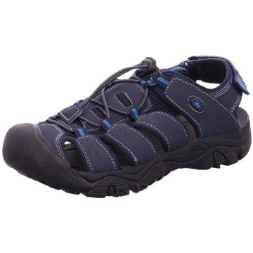 Brütting Bequeme Sandalen blau