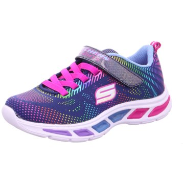 Skechers Sneaker LowS Lights Litebeams Gleam N' Dream blau