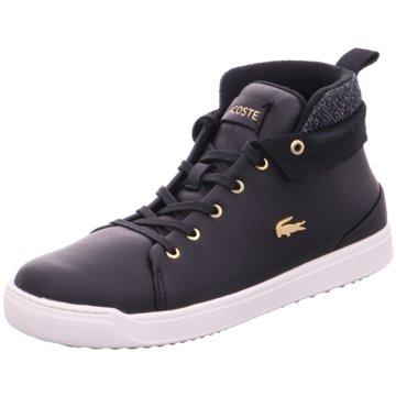 Lacoste Sneaker High schwarz