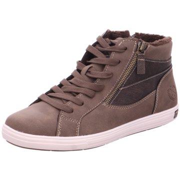 Idana Sneaker High braun