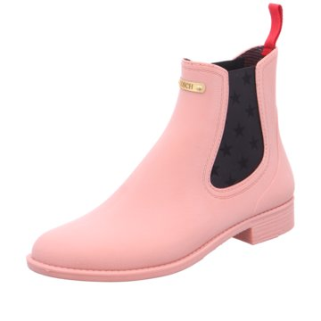 Gosch Gummistiefeletten rosa