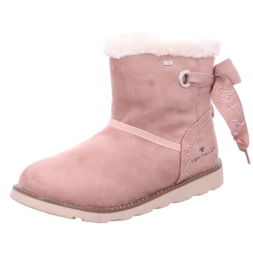 Tom Tailor Winterstiefel rosa
