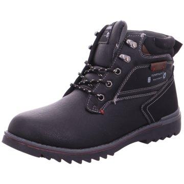 Hengst Footwear Schnürboot schwarz