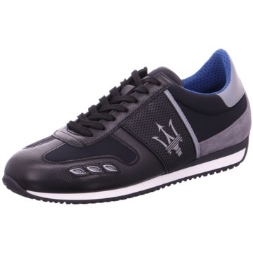La Martina Sneaker Low schwarz