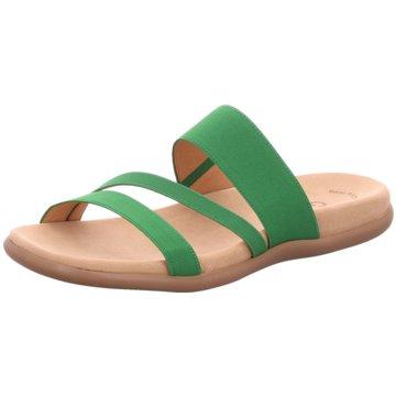 Gabor Klassische Pantolette grün