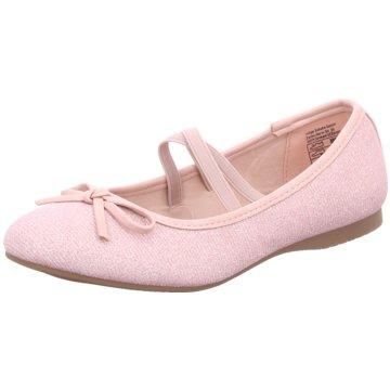 Indigo Riemchen Ballerina rosa