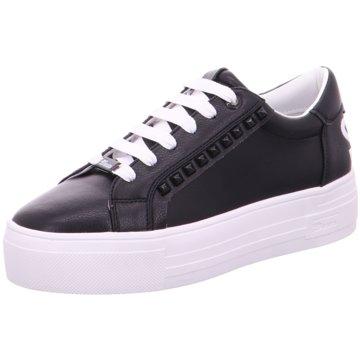 Tom Tailor Plateau Sneaker schwarz