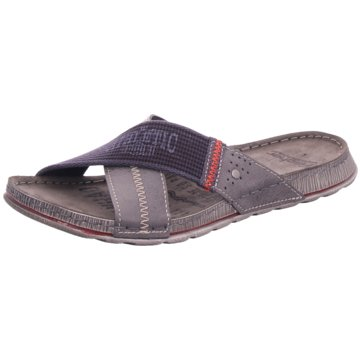 Fischer Schuhe Pantolette grau