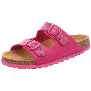 Oskar Bold Offene Schuhe pink