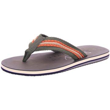 Hengst Footwear Bade-Zehentrenner grün