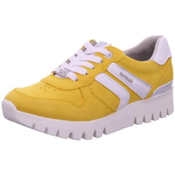 Tom Tailor Sportlicher Schnürschuh gelb