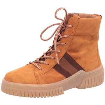 Gabor Sneaker High gelb