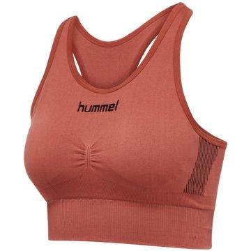 Hummel Sport-BHsFIRST SEAMLESS BRA WOMEN - 202647 rot