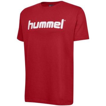 Hummel T-ShirtsHMLGO KIDS COTTON LOGO T-SHIRT S/S - 203514 rot