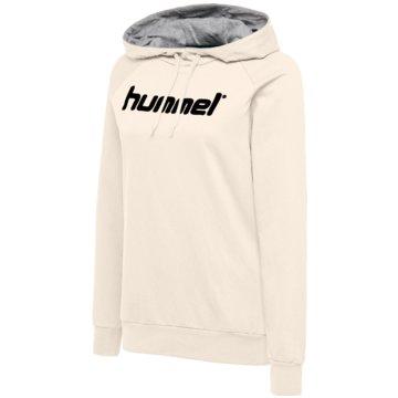 Hummel SweaterHMLGO COTTON LOGO HOODIE WOMAN - 203517 weiß