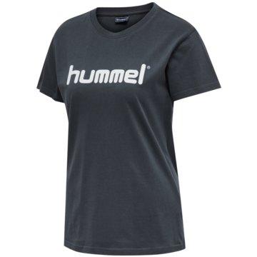 Hummel T-ShirtsGO Baumwolle LOGO T-SHIRT WOMAN S/S - 203518 blau