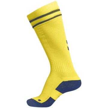 Hummel Hohe SockenELEMENT FOOTBALL SOCK - 204046 gelb