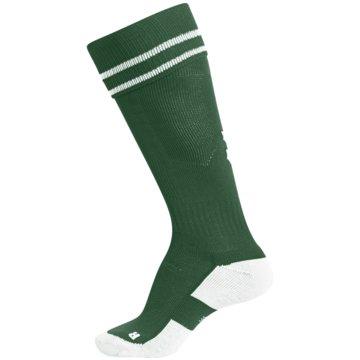 Hummel Hohe SockenELEMENT FOOTBALL SOCK - 204046 grün