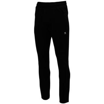 Hummel Lange HosenTROPPER TAPERED PANTS - 206273 schwarz
