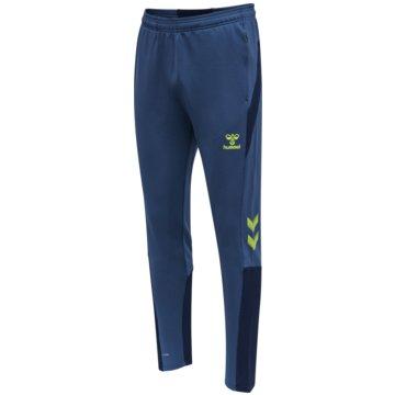 Hummel TrainingshosenhmlLEAD FOOTBALL PANTS KIDS - 207414 blau