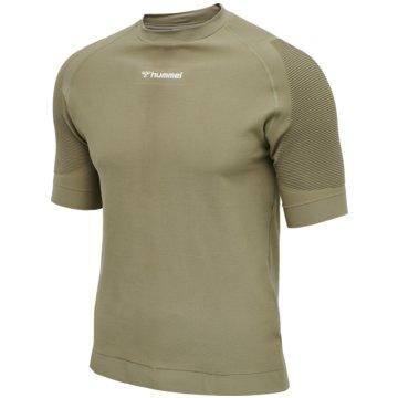 Hummel T-ShirtsCUBE SEAMLESS T-SHIRT - 210337 grün
