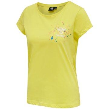 Hummel T-ShirtsSPRING T-SHIRT - 211383 gelb
