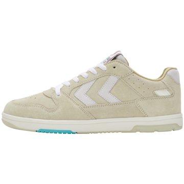 Hummel Sneaker LowPOWER PLAY SUEDE - 212184 weiß