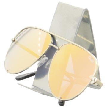 Quay Sonnenbrillen gelb