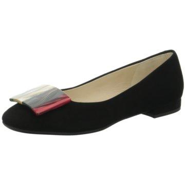 Moda di Fausto Top Trends Ballerinas schwarz