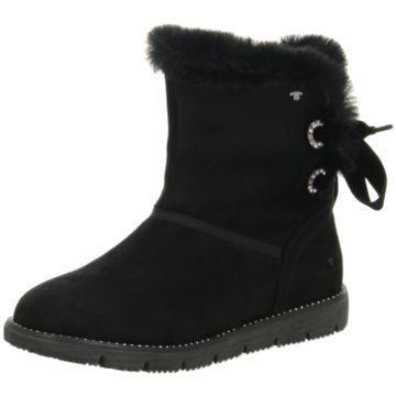 Tom Tailor Winterboot schwarz